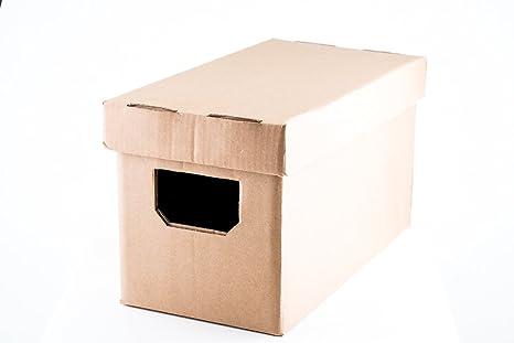 7 Vinilos transporte y almacenaje Singles Caja de cartón: Amazon.es: Instrumentos musicales