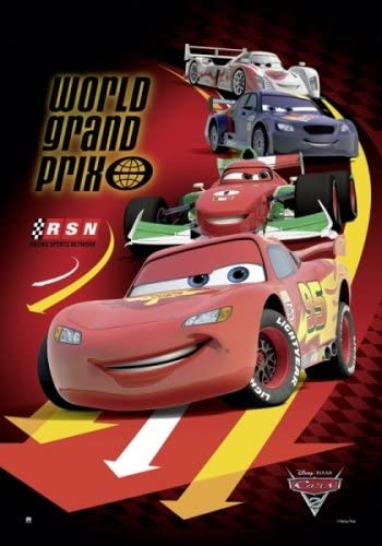 Amazon Com Cars 2 Disney Pixar Movie Poster Print World Grand