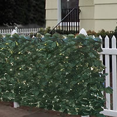 "Best Choice Products Faux Ivy Privacy Fence Screen 94"" X 39"" Artificial Hedge Fencing Outdoor Decor"