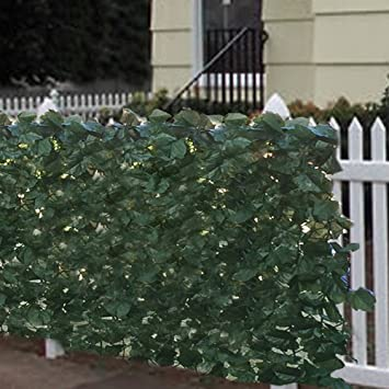 Amazon.com : Best Choice Products Faux Ivy Privacy Fence Screen 94 ...