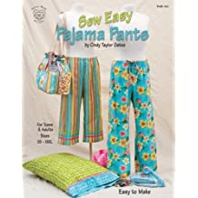 Taylor Made Designs Patterns-Sew Easy Pajama Pants