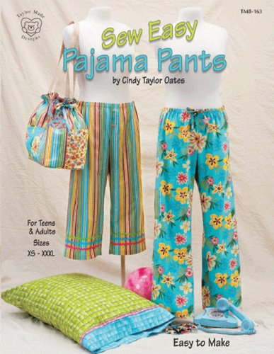 Amazon Taylor Made Designs PatternsSew Easy Pajama Pants Unique Pajama Pants Pattern