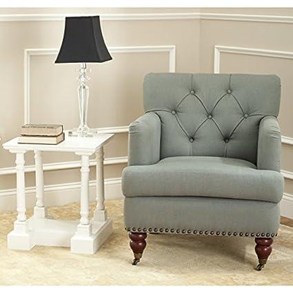 Safavieh Hudson Collection Mario Green Grey Club Chair