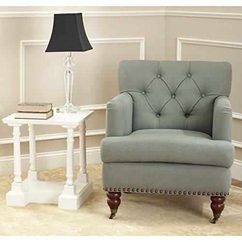 Safavieh Hudson Collection Mario Green-Grey Club Chair -