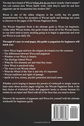 Wiccan Paganism: Witchcraft & Wicca For Beginners Guide Book to