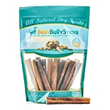 Best Bully Sticks 6-inch Thick Bully Sticks by (18 Pack) All Natural Dog Treats
