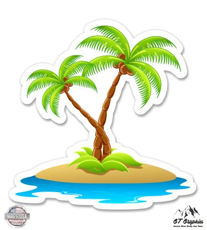 GT Graphics Island with Palm Trees - 3