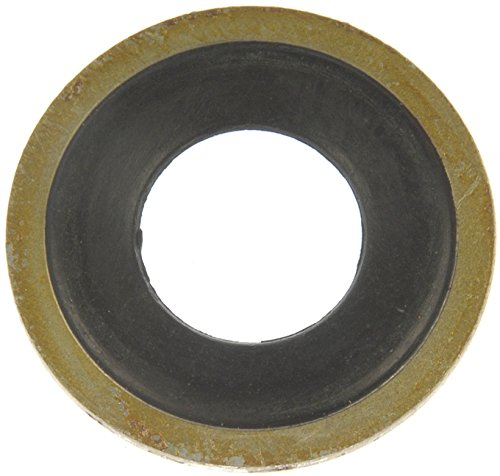 Dorman 65274 Metal/Rubber Oil Drain Plug Gasket, Pack of 2