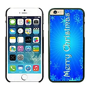 Iphone 6 cases,Merry Christmas Iphone 6 (4.7)case Black Cover