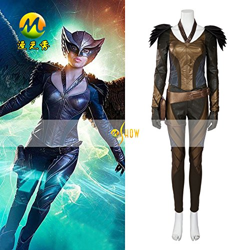 [Green Arrow Hawkgirl a set of costume Cosplay Prop] (Hawkgirl Cosplay Costume)