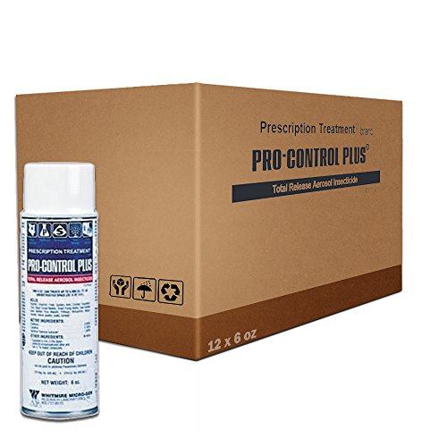 - ProControl Plus Total Release Fogger Bomb 1 Case (12 x 6 oz. Cans)