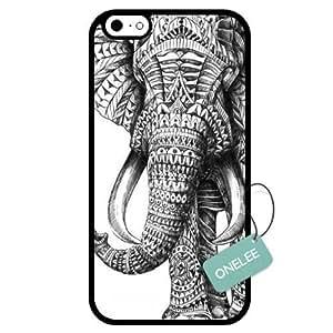 diy case - Elephant Art Design iPhone 6 Case & Cover - iPhone 6 Case (TPU) - Black 9