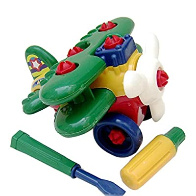 Sacow Helicopter Toy for Kids, Child Baby Cute Magnetic Toy Intelligence Disassembly Helicopter: Toys & Games