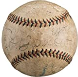 1918 Red Sox World Series Game Used & Signed Baseball Inscribed by Babe Ruth - MLB Game Used Baseballs