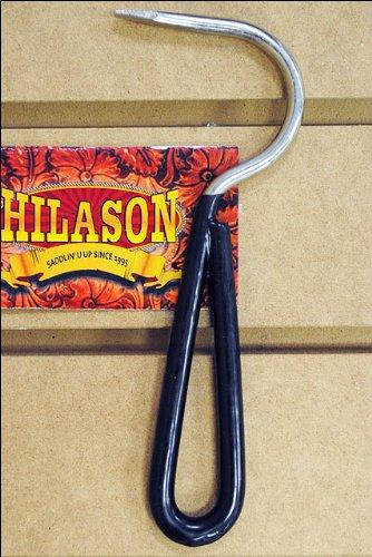 Black Horse Tack Zinc Plated Hoof Pick With Vinyl Coated Handle