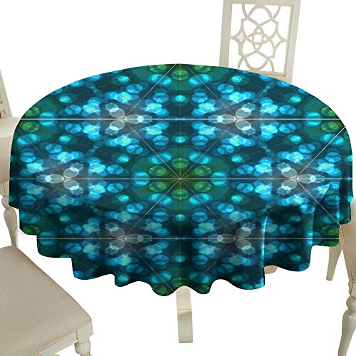 - Iridescent cloud Elegance Engineered Tablecloth Abstract Colorful Light Bokeh Wallpaper Texture Background Indoor Outdoor Camping Picnic D35