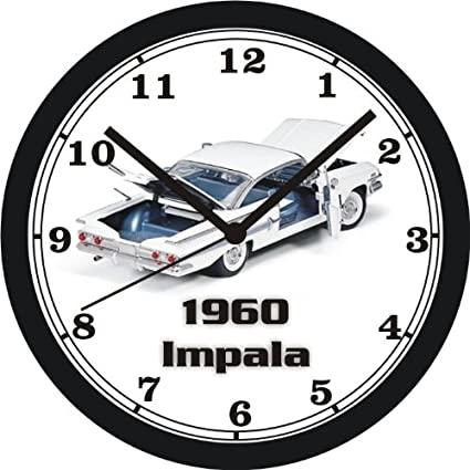 amazon 1960 chevrolet impala wall clock free usa ship choose 1 Impala Van amazon 1960 chevrolet impala wall clock free usa ship choose 1 of 2 home kitchen