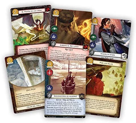 Fantasy Flight Games- Juego de Tronos LCG - Qué Cosas Hacemos por Amor, Color (GT54ES): Amazon.es: Juguetes y juegos