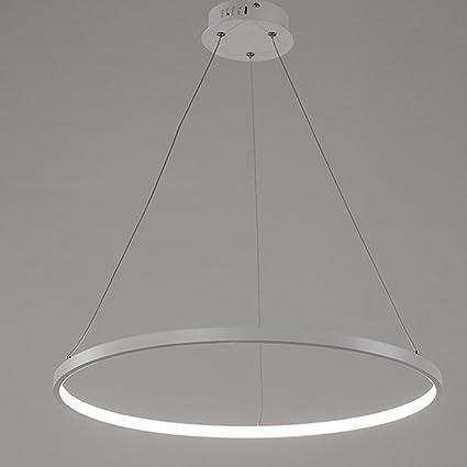 Moderne Led Ring Lampe Kronleuchter Leuchte Acryl Led