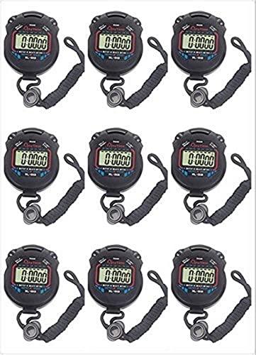 GLLP Elektronische Stopwatch Multifunctionele Waterdichte Sport Stopwatch Groothandel Outdoor Sport Running Fitness…