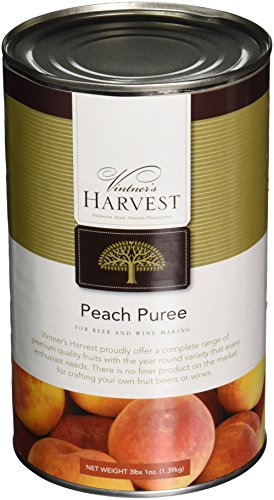 Vintner's Harvest Fruit Puree - Peach 3 lbs 1 oz. - Harvest Peach