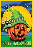 Toland Home Garden Halloween Hitcher Garden Flag
