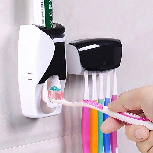 gogil 1 Set Creative Automatic Plastic Lazy Toothpaste Dispe