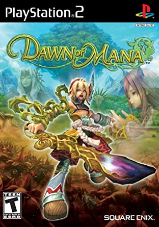 Amazon Com Dawn Of Mana Playstation 2 Artist Not Provided Video Games