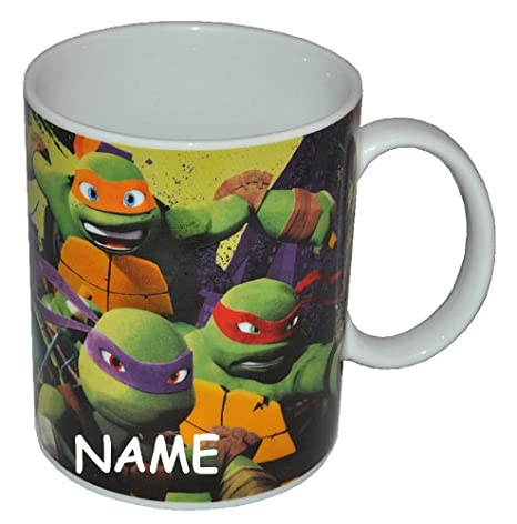 Asa Taza Teenage Mutant Ninja Turtles - Grande - Cerámica ...