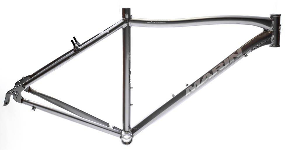 19'' MARIN SAN ANSELMO Hybrid City 700c Bike Frame Silver Alloy V-Brake NOS NEW