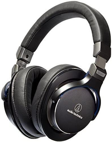 Audio-Technica ATH-MSR7 - Auriculares (Alámbrico, Diadema, Binaural, Circumaural, 5-40000 Hz, Negro)