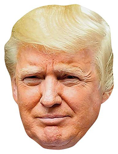Donald Trump cardboard party -