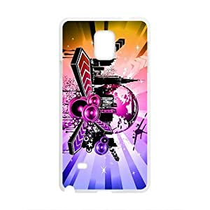 Shining City Graffiti Hot Seller High Quality Case Cove For Samsung Galaxy Note4 by icecream design