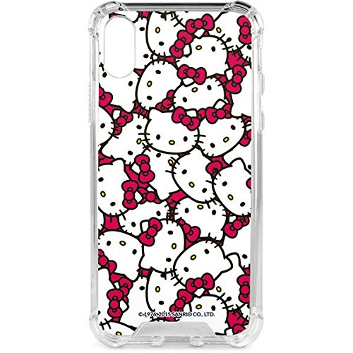 Kitty Hello Sanrio Apple (Hello Kitty iPhone X Case - Hello Kitty Multiple Bows Pink | Sanrio Hello Kitty X Skinit LeNu Case)