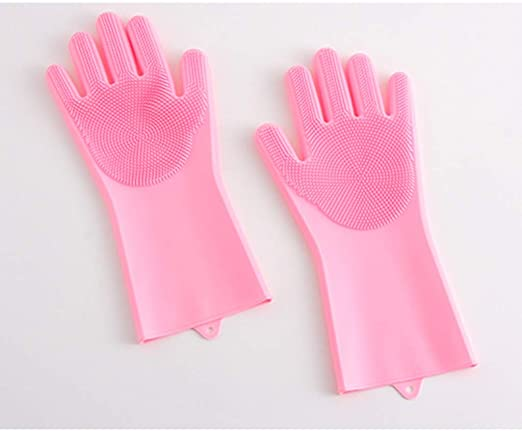 free shipping new styles unique design YYFRB Multi-functional Silicone Gloves, Thick Car Wash ...