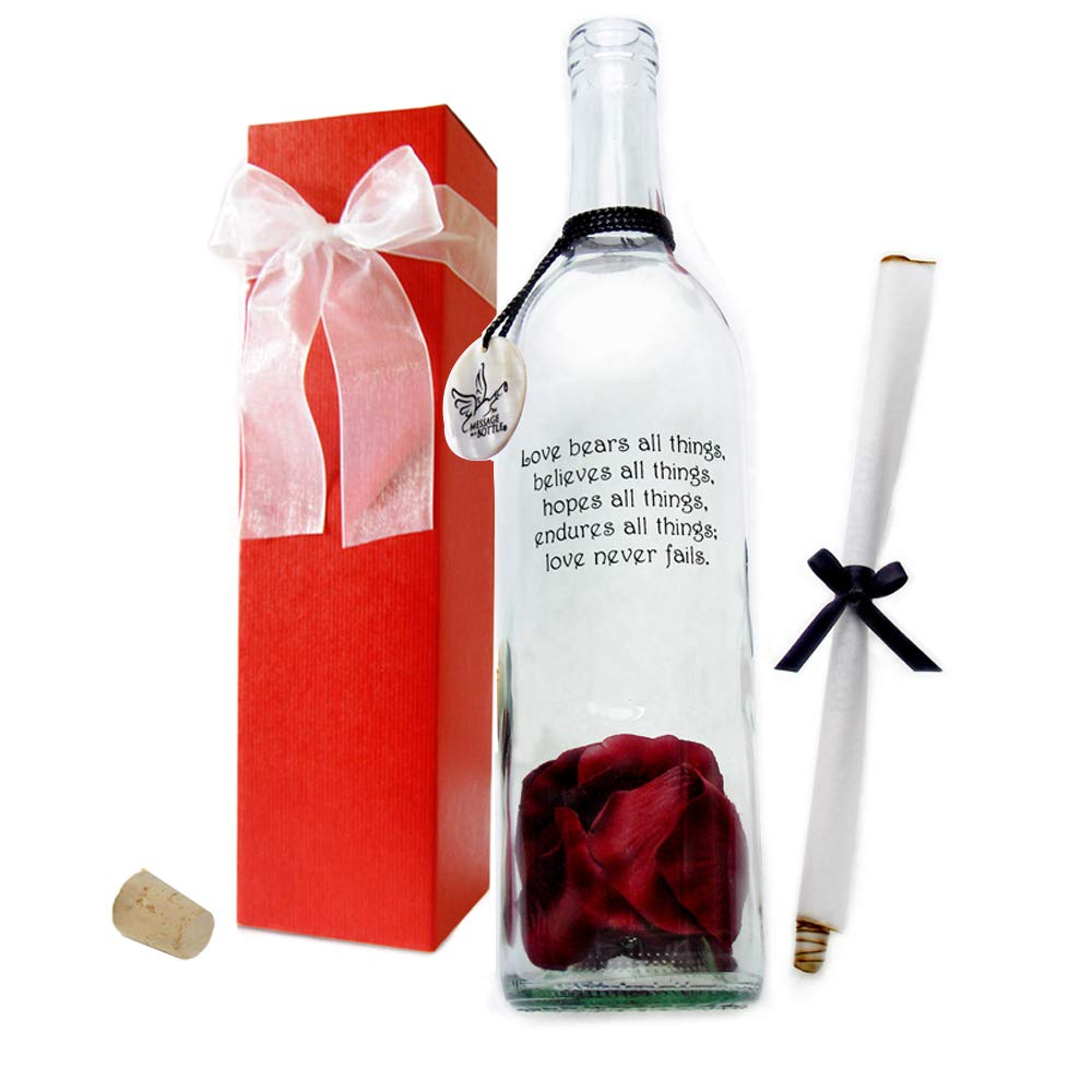 Message in a Bottle ''TRUE'' Personalized Gift by Message In A Bottle