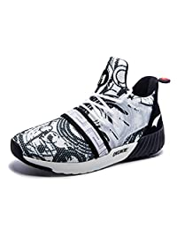 ONEMIX Unisex Awesome Graffiti Jogging Sneaker Everyday Leisure Athletic Shoes