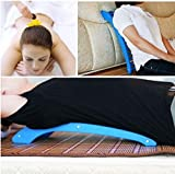 Back Stretcher Massage Tool Cervical Vertebra Neck Relief Massager Fatigue Pain Home Office by STCorps7