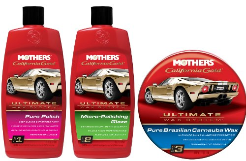 Mothers Ultimate Wax System (w/Paste Wax) (Wax Ultimate System)