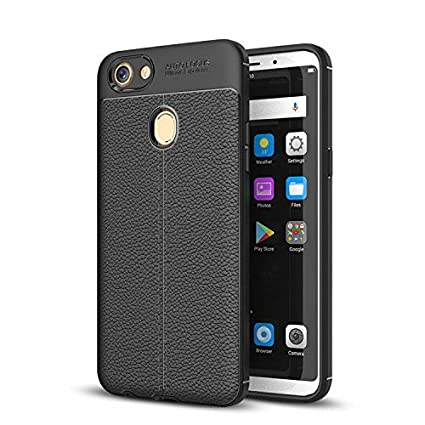 wholesale dealer 4111d 7661f ERIT Oppo F7 Soft Silicone TPU Flexible Leather Taxture: Amazon.in ...