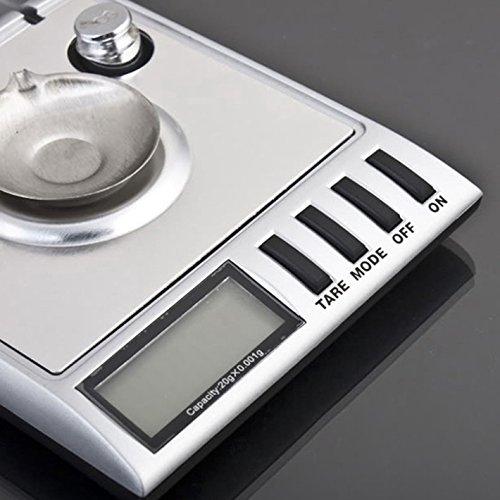 - RioRand 0.001g/20g Digital LCD Balance Weight Milligram Pocket Jewelry Diamond Scale S3