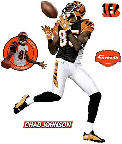 FATHEAD Chad Johnson Cincinnati Bengals Wall Decal