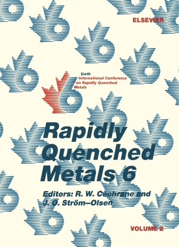 Rapidly Quenched Metals 6, Volume 2 pdf