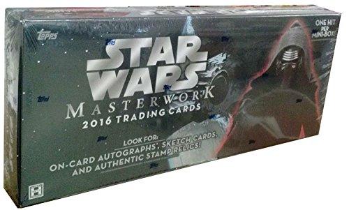 2016 Topps Auto - Star Wars Masterwork Hobby Box (Topps 2016)