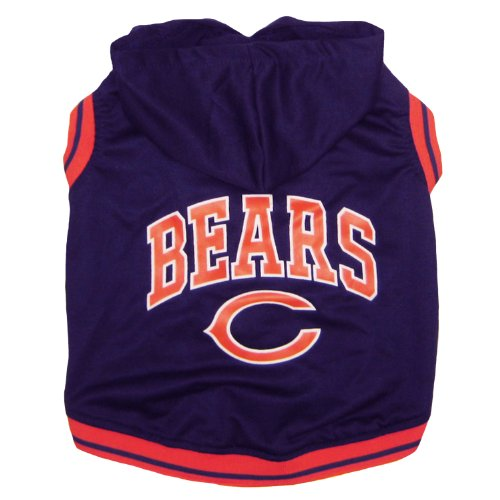 Pets First NFL Chicago Bears Hoodie, Large by Pets First