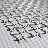 "Woven Wire # 5 Mesh 12""X 24"" 30cm X60cm x4.5mm"