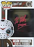 Friday the 13th Signed Autographed (Red Version) by Kane Hodder Jason Voorhees Pop Vinyl Figure