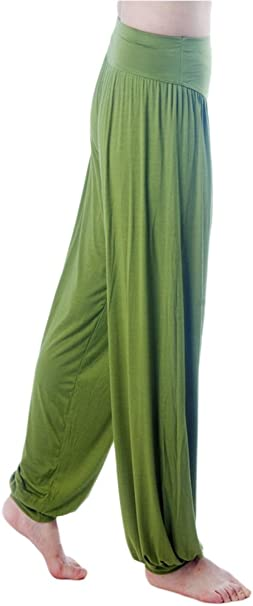 Amazon.com: Pantalones bombachos deportivos suaves de mujer ...