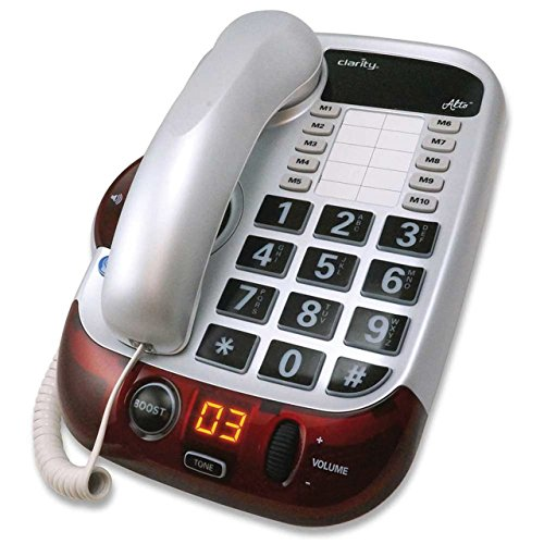 Clarity 54005.001 Alto Severe Hearing Loss Amplified Corded Phone