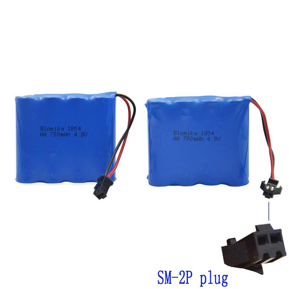 2 Baterias 4.8v 700mah Para Rc